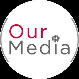 our media logo